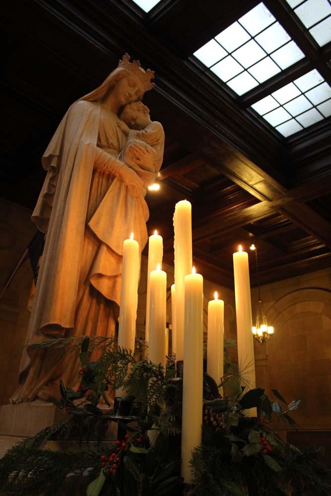 St Mary S Chapel Saint Mary S Seminary Amp University