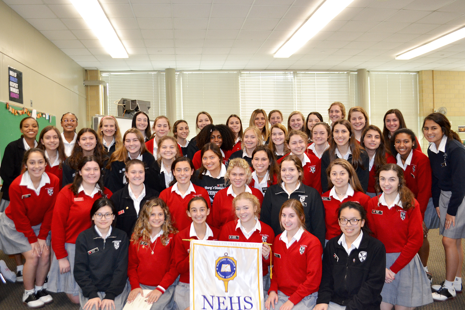 Dominican Inducts 53 Students into National English Honor ...