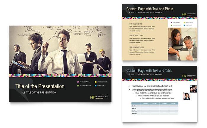 Human Resource Management Powerpoint Presentation Template