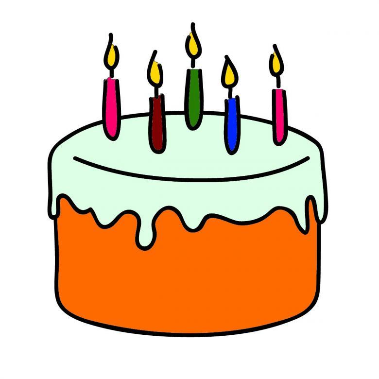 Birthday Cake Clipart Free Stock Photo By Chakomajaw On
