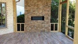 Project: OUTDOOR PATIO StonePeak American Floor Tile