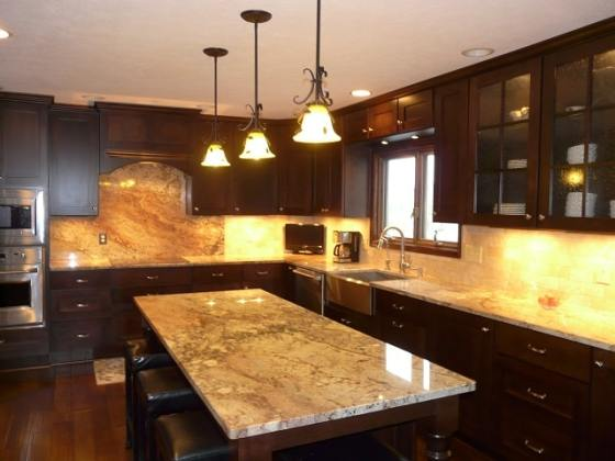 Custom Kitchen Countertops Available in Indianapolis IN Stone Kitchen Countertops Indianapolis IN