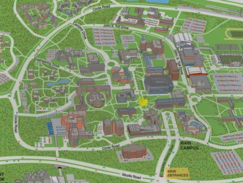 Stony Brook University  New York   Maps   Directions Interactive Campus Map