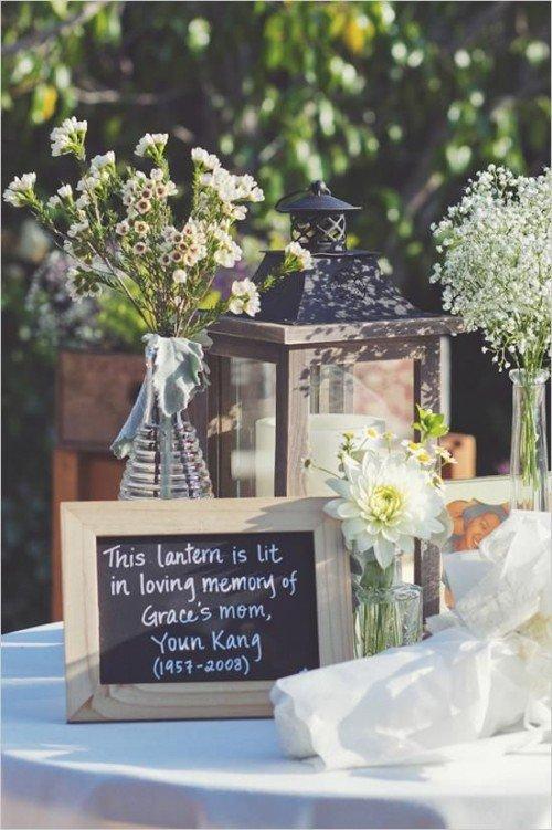 Memory Candle Wedding
