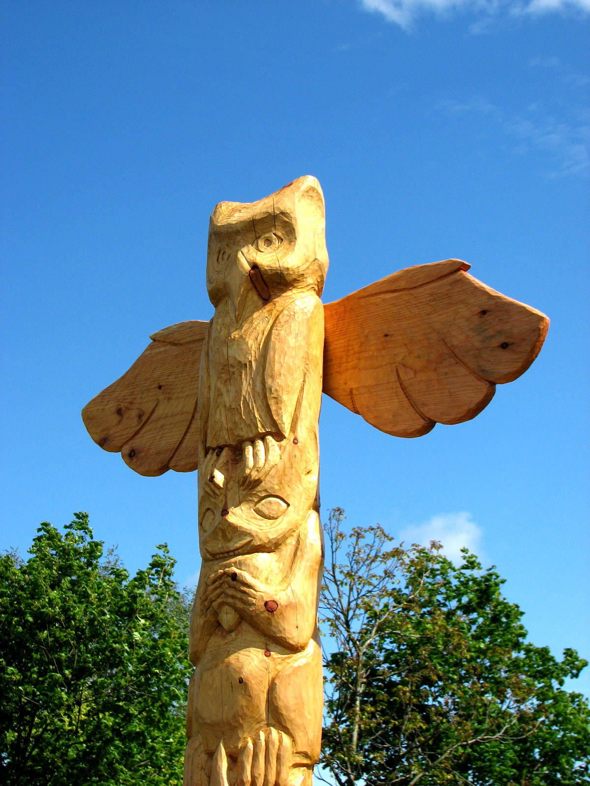 Woodcarving Owen Pilgrim Storyteller And Artist