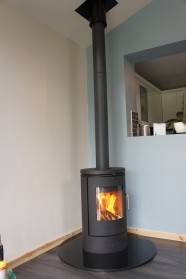 Photographic Examples Of Wood Burning Stoves Installed In