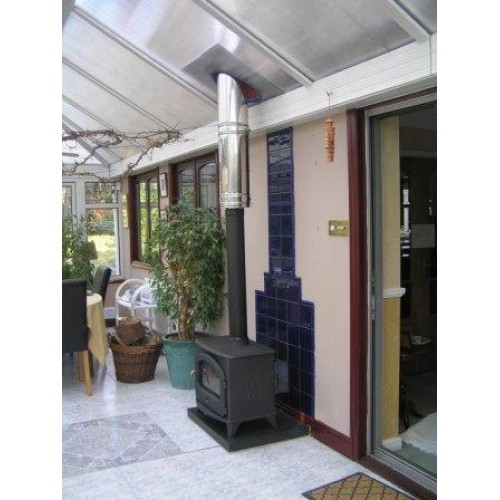 Chester 5kw Conservatory Wood Burning Stove Package