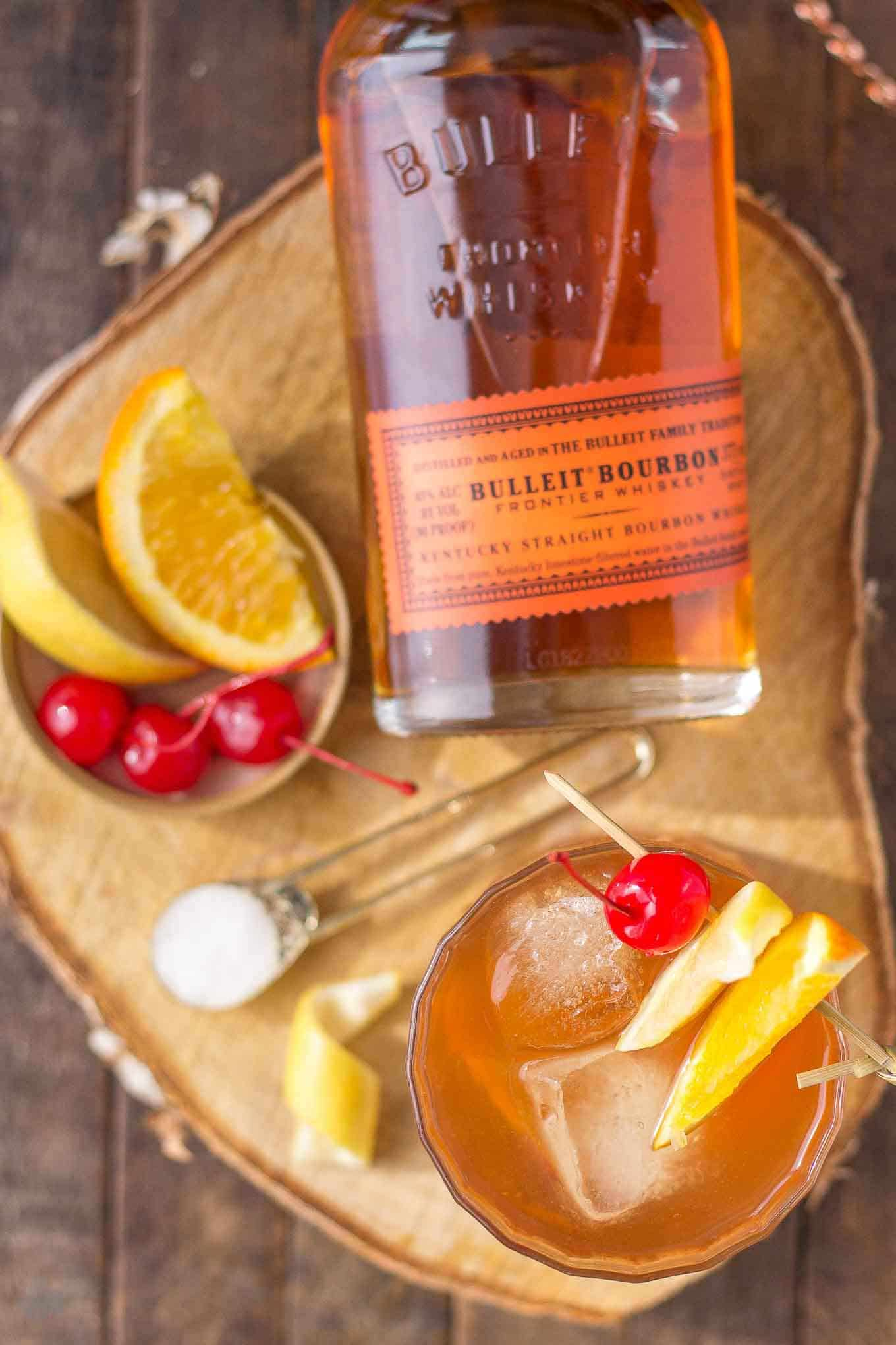 Old Fashioned A spin on the traditional old fashioned  the addition of black walnut  bitters draws out