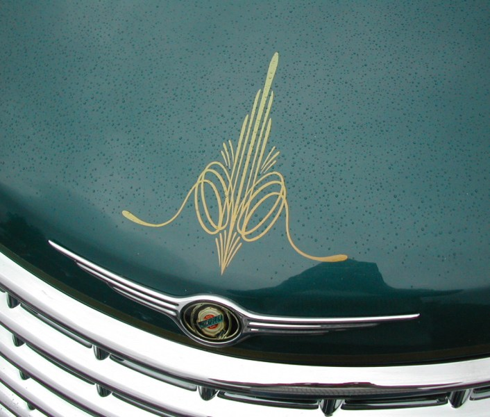 Classic Retro Pinstripe Designs   Vintage look scroll pin striping