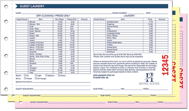 free cleaning service business forms
