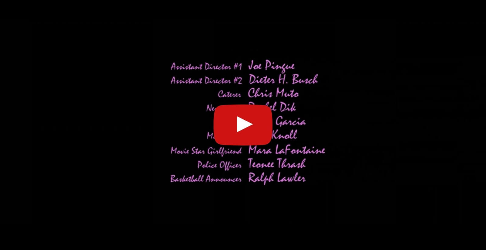 Exelent Movie Credits Format Template Ensign - Example Resume and ...