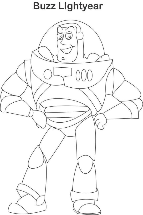 buzz lightyear coloring page # 20