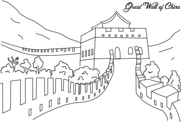 china coloring pages # 3