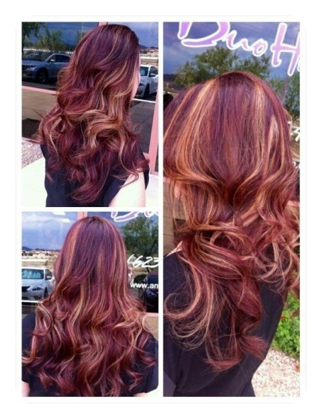72 Stunning Red Hair Color Ideas With Highlights