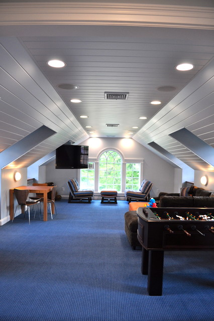 18 Great Ideas For How To Use Your Attic Space