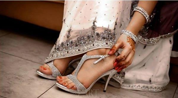 Fancy Sandals Wedding