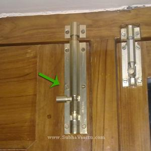 Vastu For Doors   Home Entrance And Gates   Doors Vastu Door Bolt