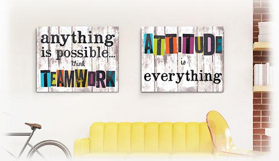 Inspirational Desk Decor