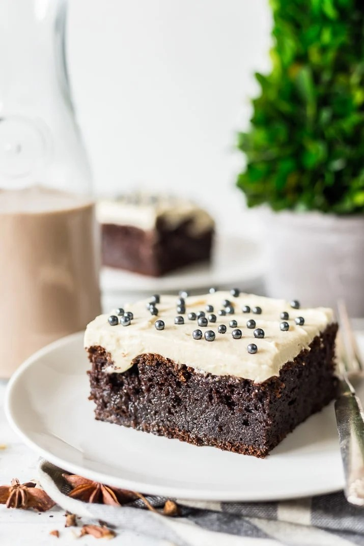 Chocolate Irish Cream Cake Recipe Sugar Amp Soul