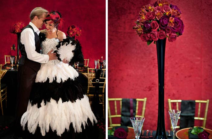 Sugar And Spice Events Moulin Rouge Wedding Theme