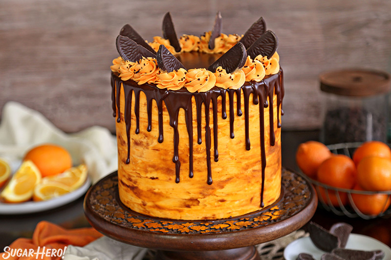 Chocolate Orange Cake Sugarhero