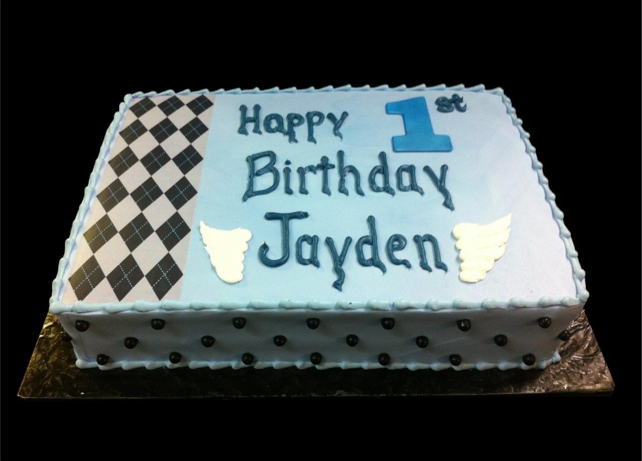 Baby Cakes 1st Birthday