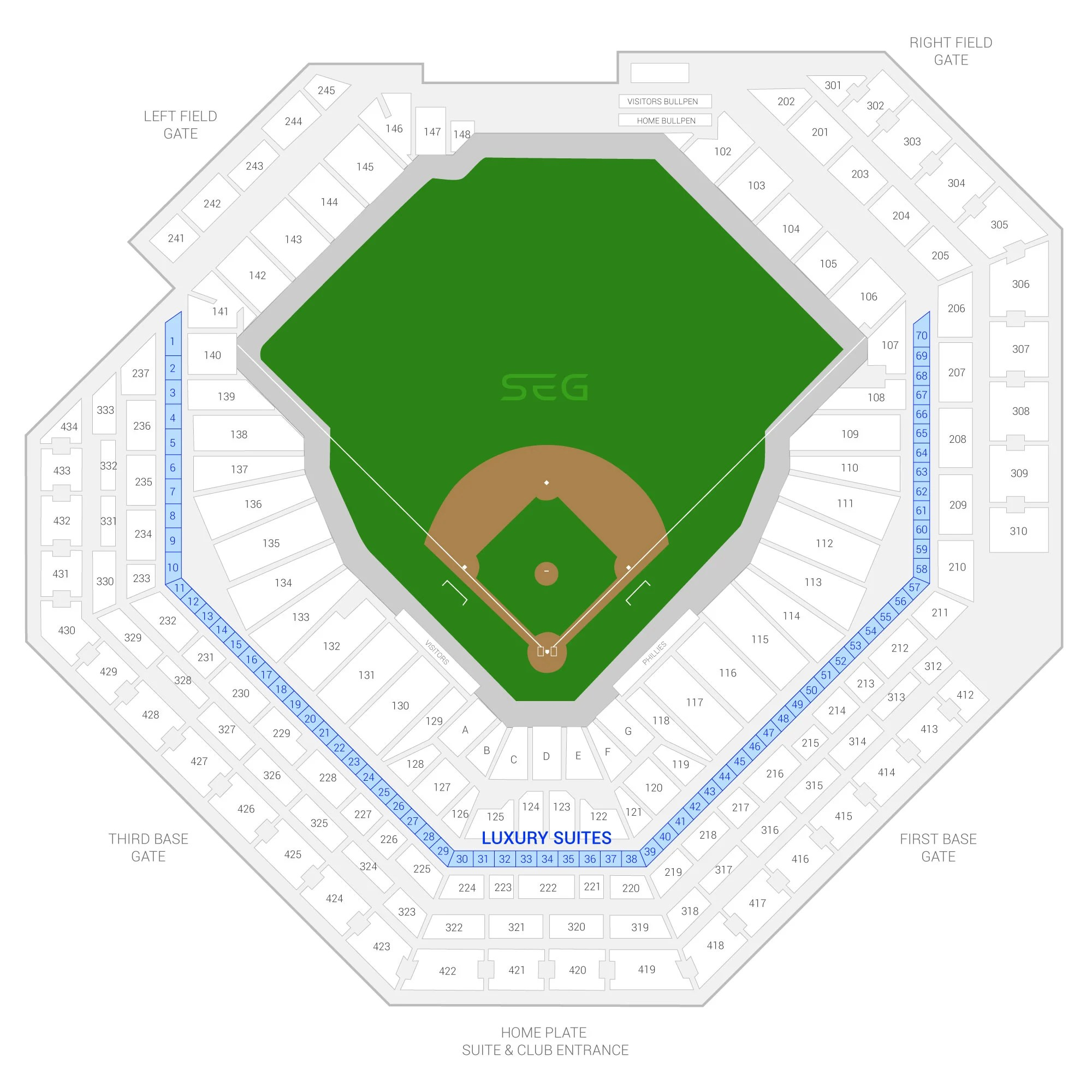 chase field suite seating chart. Black Bedroom Furniture Sets. Home Design Ideas