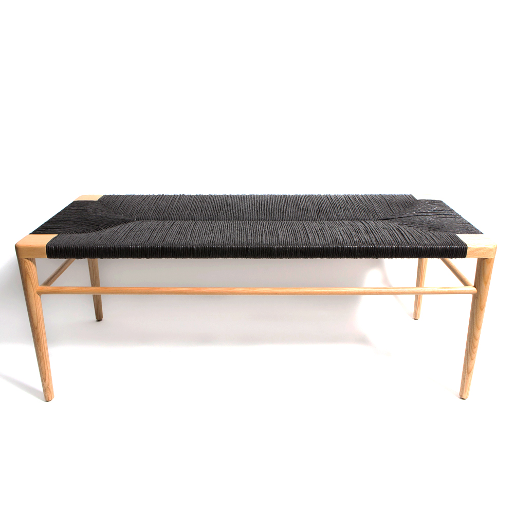 Woven Rush Bench Mel Smilow Smilow Furniture Suite Ny
