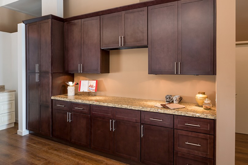 Shaker Espresso Kitchen Cabinets   Shaker Style Cabinets Corona     Shaker Espresso Kitchen Cabinets