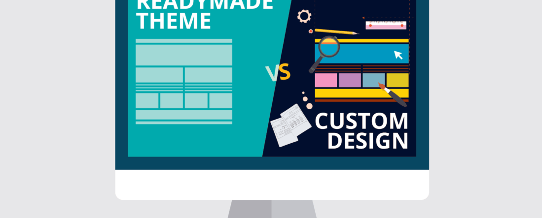 Custom Web Design vs Readymade Website Templates