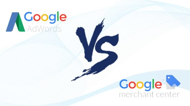 Google Adwords vs Merchant
