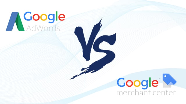 Google Adwords vs Merchant Centre