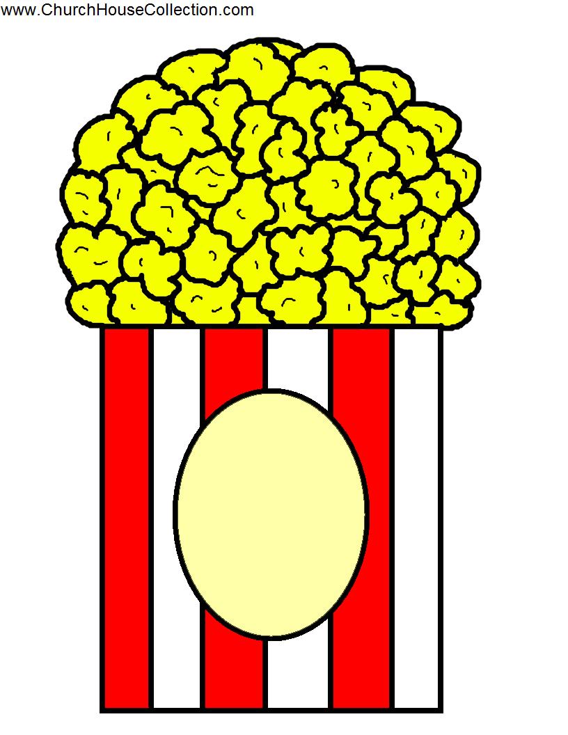 Popcorn Kernels Colored Crafts
