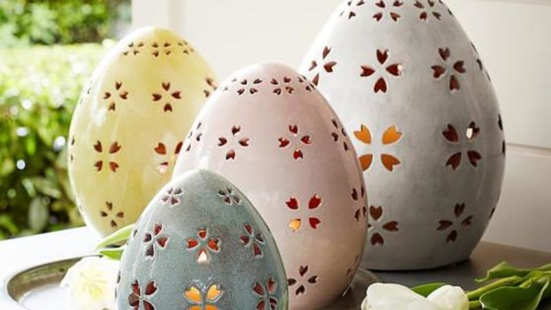 Easter Decorating Ideas with a Touch of Whimsy   Sunset Magazine Eggs cellent