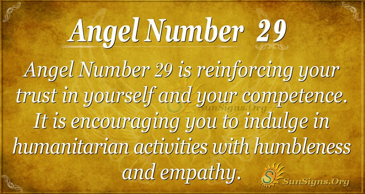 Angel Number 29 Meaning - Building Trust In Yourself ...