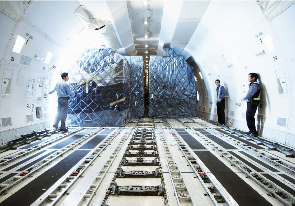 Alaska Aircraft Inside Air