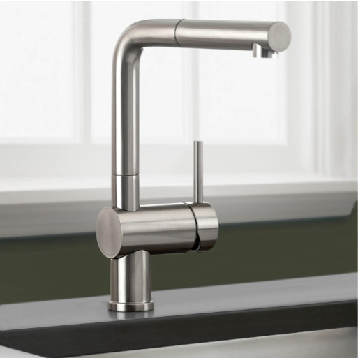 Stainless Steel Pull Out Kitchen Faucet
