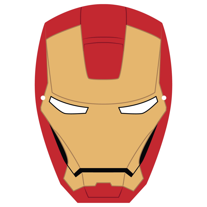 Ironman Mask Template | Free Printable Papercraft Templates
