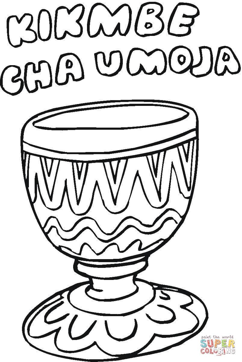 Kikombe Cha Umoja Coloring Page Free Printable Coloring Pages