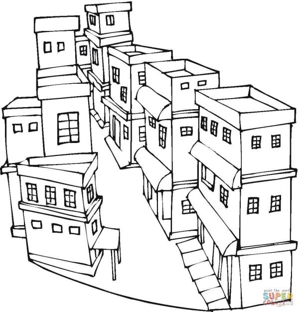 city coloring pages # 19