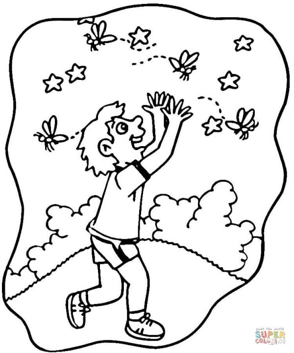 firefly coloring page # 17