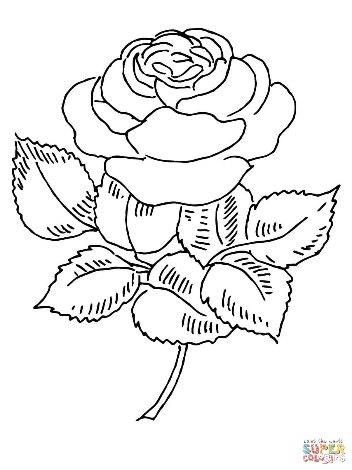 Roses Coloring Pages Free Coloring Pages Download | Xsibe realistic ...