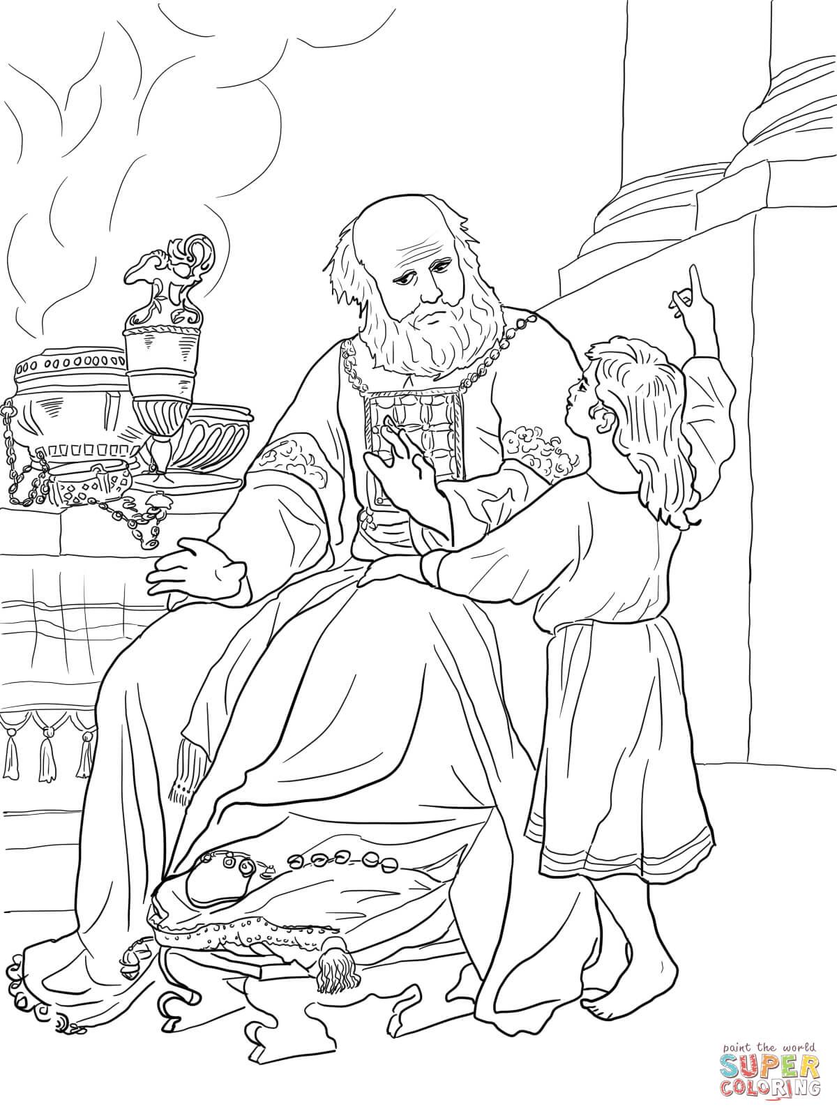 13 Page Coloring John 15