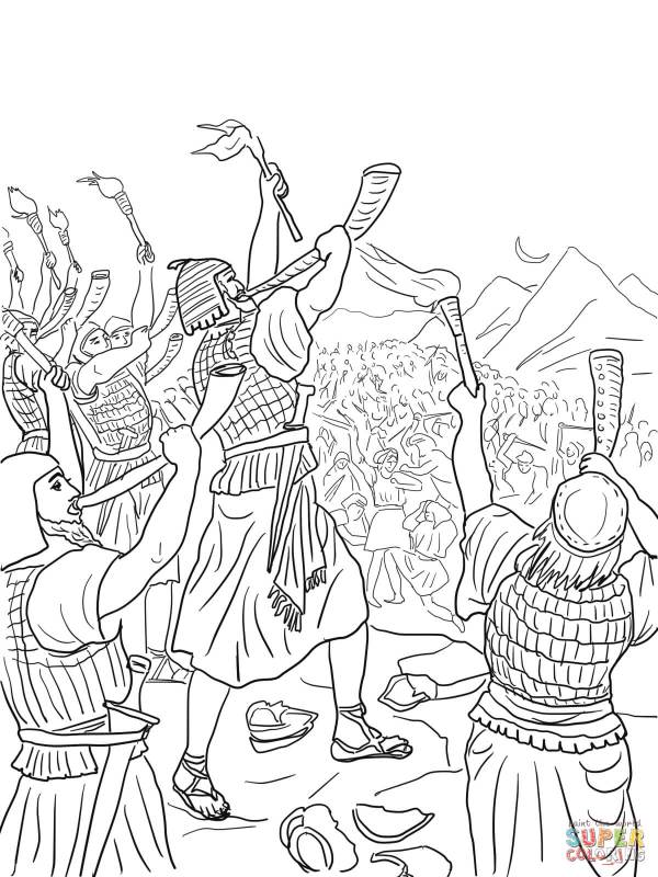gideon coloring pages # 4