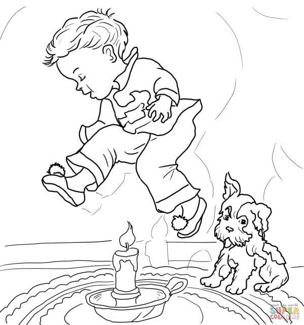 nursery rhyme coloring pages # 11