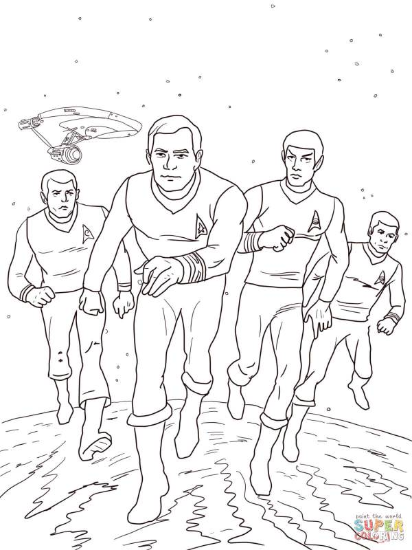 star trek coloring pages # 2