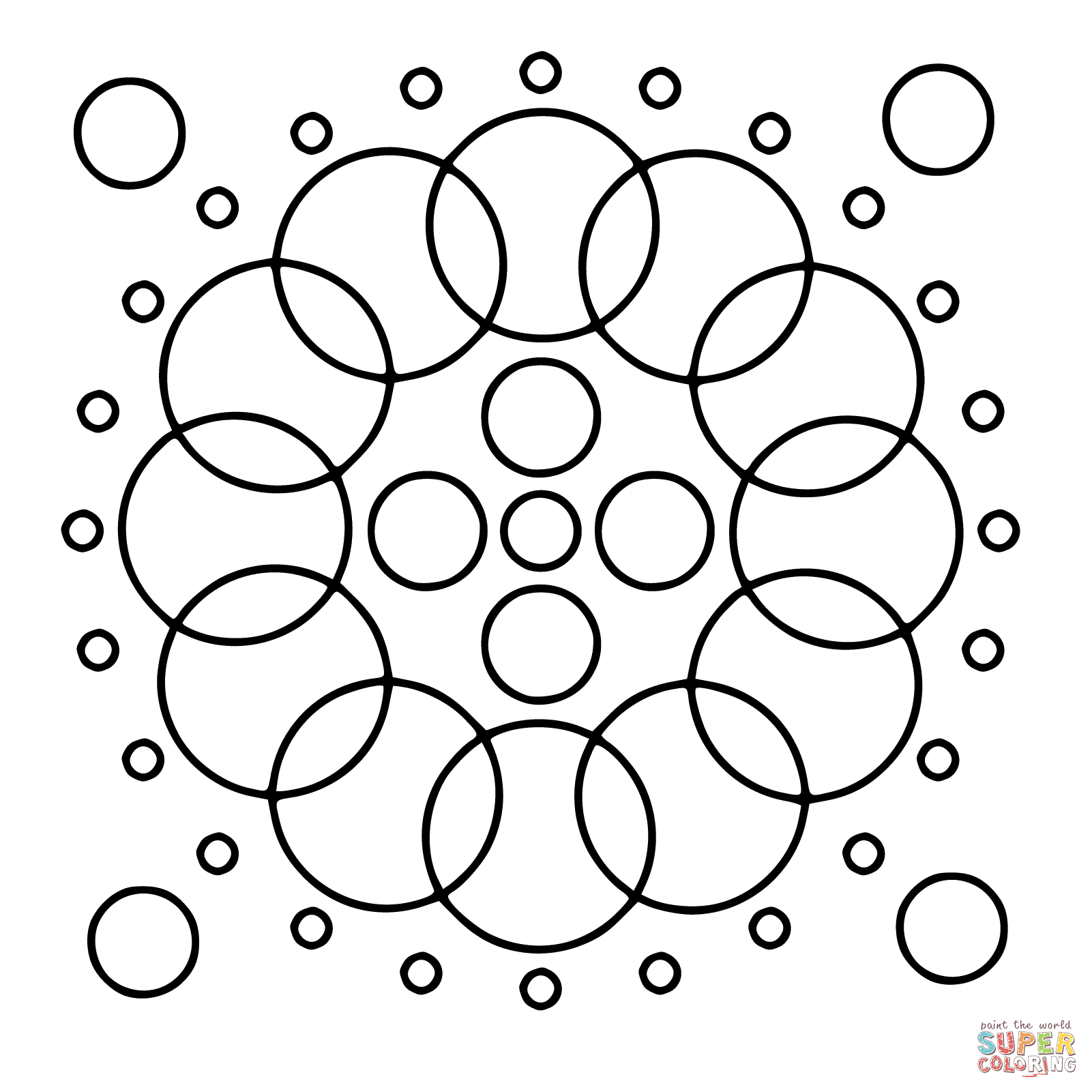 Circle Coloring Page Free Coloring Pages Download | Xsibe triangle ...