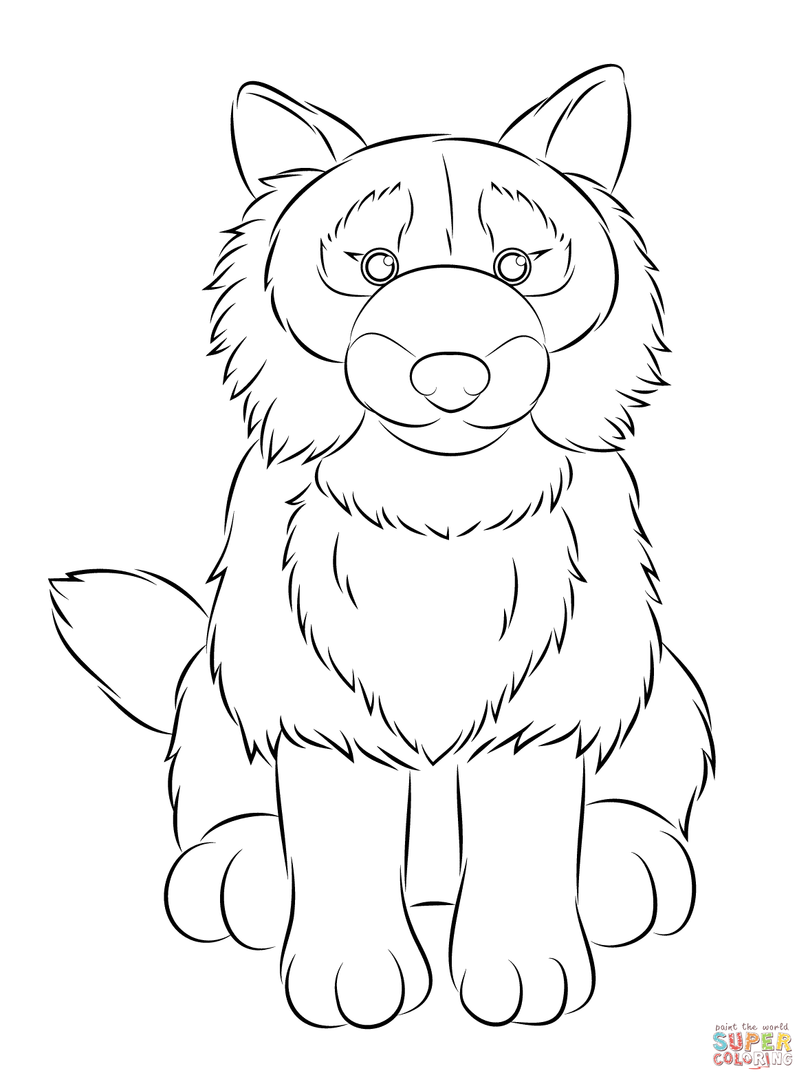 Webkinz Dog Coloring Page Free Printable Coloring Pages