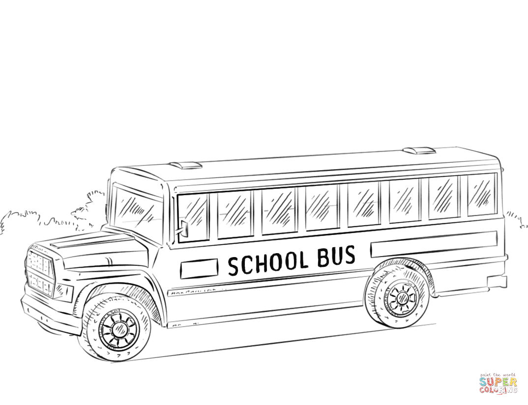 Bus Coloring Page Free Coloring Pages Download | Xsibe truck ...