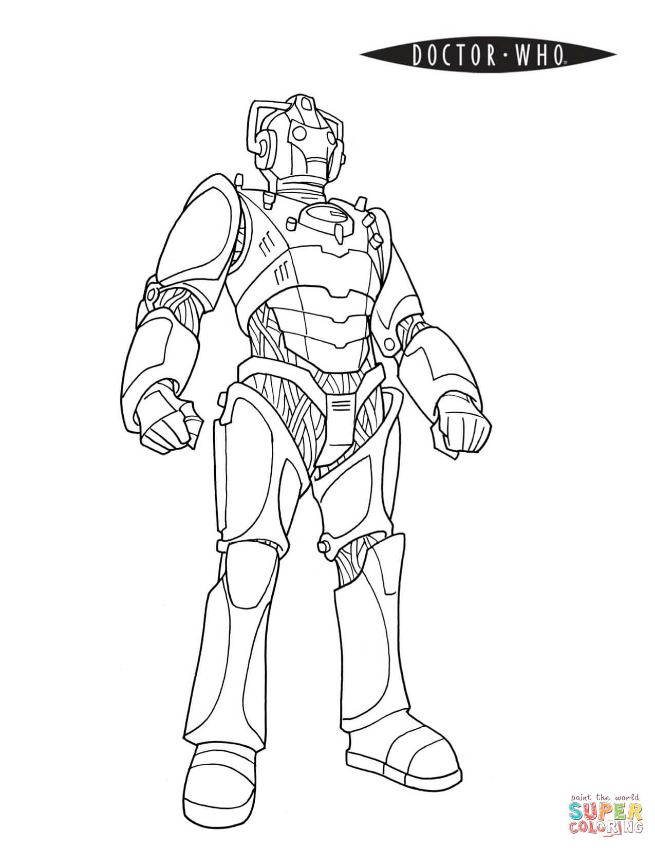 Doctor Who Coloring Pages Free Coloring Pages